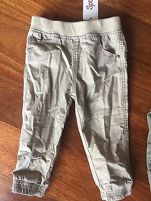 Sprout Size 1 Bnwt Cargo Baby Boys Pants