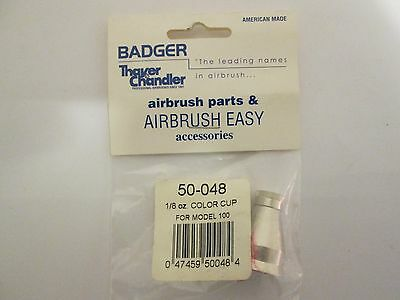 Badger Air Brush Parts #50-048 1/8 oz. Color Cup for Model 100