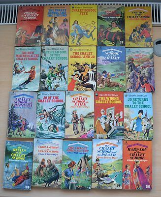 Elinor M. Brent-Dyer -job lot 15 books (Published in the 1960s and 1970s)