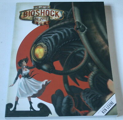 The Art of BioShock Infinite-Irrational Games- GRAPHIC NOVEL-GIANT-BOOK New