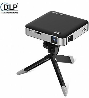 APEMAN Mini Pocket LED DLP Projector HD Built-in Battery Rechargeable HDMI MHL