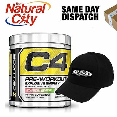 CELLUCOR C4 GEN4 30 SERVE - Free Baseball Cap