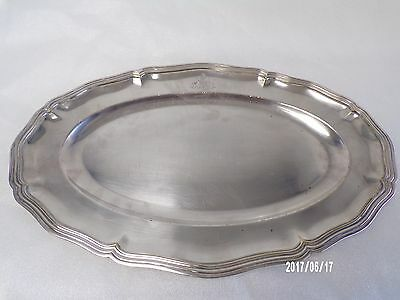 French 1930's Silver Plate, Large Platter, CHRISTOFLE.