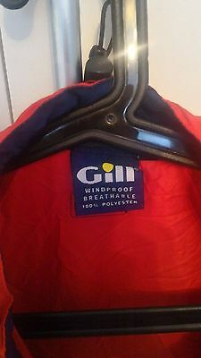 Gill sailing jacket windproof - foldable