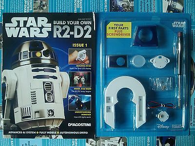 DEAGOSTINI STAR WARS - Build Your Own R2-D2 Issue 1 Sealed With Parts
