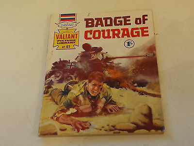 VALIANT PICTURE LIBRARY,NO 61,1965 ISSUE,GOOD FOR AGE,52 yrs old,V RARE COMIC.