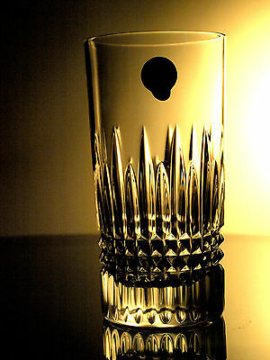 Waterford Crystal Signed Lismore Diamond 12-Ounce Hi-Ball Tumbler/ Tumblers New