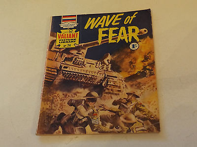 VALIANT PICTURE LIBRARY,NO 74,1966 ISSUE,GOOD FOR AGE,51 yrs old,V RARE COMIC.