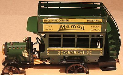 Mamod Bus Lb1 In Rare Green Live Steam Model Unused  Mint Boxed Traction Engine