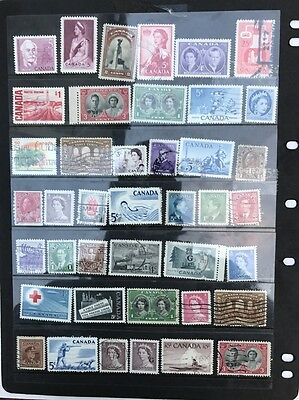 stamps  Canada - MH and Used - Lot 439