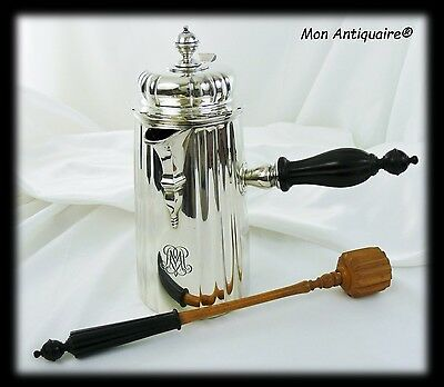 CARDEILHAC ANTIQUE FRENCH STERLING SILVER CHOCOLATEPOT, Teapot or Coffee pot
