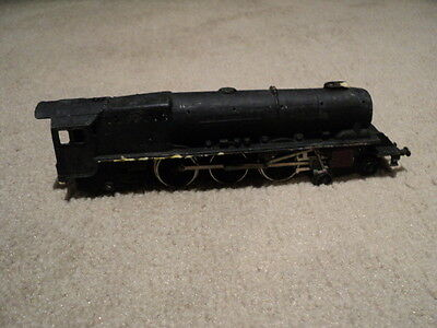 Hornby Dublo steam train locomotive and coal wagon with electric motor