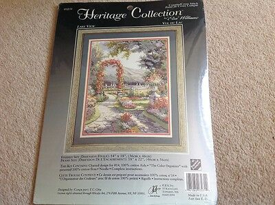 BN Heritage Collection Lake ViewCross Stitch Kit by Elsa Wiliams