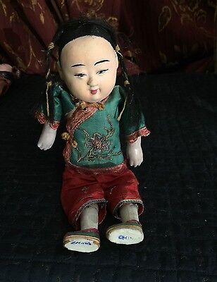 Antique Chinese Composition Doll