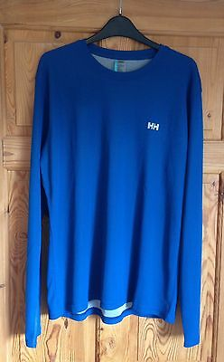 Helly Hansen: Men's Long Sleeve Thermal - Large Excellent Condition