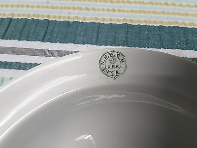 One Nice (N.s.w.g.r.) Rrr Old Soup  Plate.