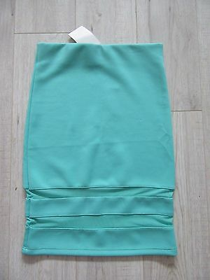 BNWT H&M green lace detail stretch/fitted skirt size XS