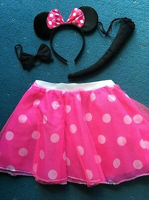 ladies minnie mouse fancy dress Size Small New