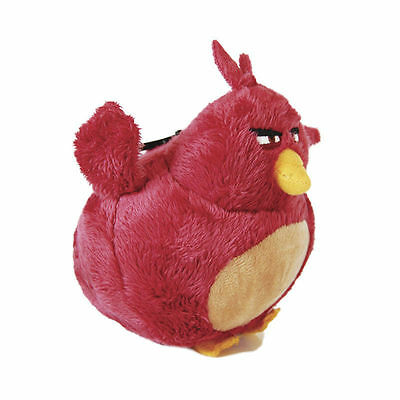 """Angry Birds Movie Soft Plush 5.5"""" 15 Sm Terence Keychain"""