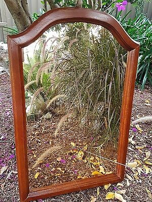 Vintage Antique gold tone Mirror - Rustic - Shabby Chic