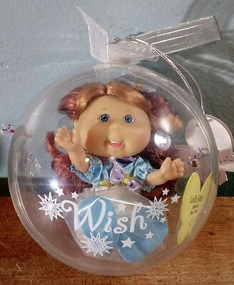 New Sealed Cabbage Patch Lil Sprouts Wish Ornament Leila Salma Born April 19Th