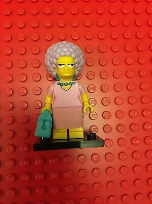 The Simpsons Series Two Lego Patty Minifigure Mini figure Mini Fig Minifig
