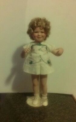 Danbury Mint Porcelain Shirley Temple Two of a Kind Pals Dolls