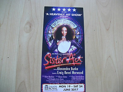 **Sister Act The Musical At Newcastle Theatre Royal Alexandra Burke**