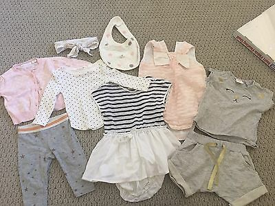 Country Road & Seed baby girl bundle: 0-3 & 6-12 months