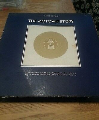The Motown Story Limited Edition 5 LP box Set MS 5-726