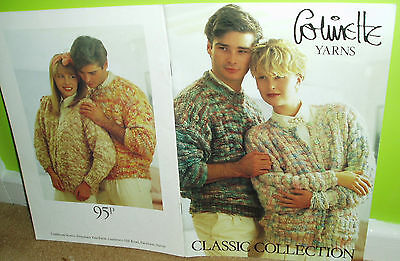 Collinette yarns knitting booklet - Classic Collection