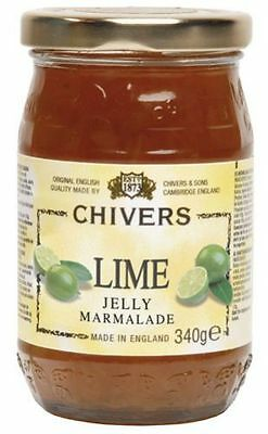 Chivers Lime Jelly Marmalade - 340 g