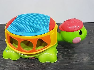 Fisher Price Build & Spill Musical Turtle