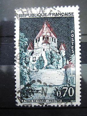 Timbres France-N° 1392A Oblitere