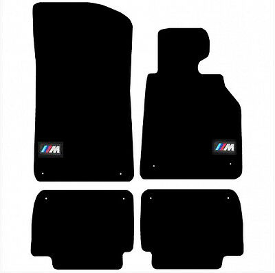 BMW 3 Series E46 1998 - 2006 Tailored Black Carpet Car Floor Mats (8-TC)