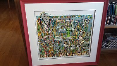 """James Rizzi 3D-Objekt """"I'm in a New York State of Mind"""""""