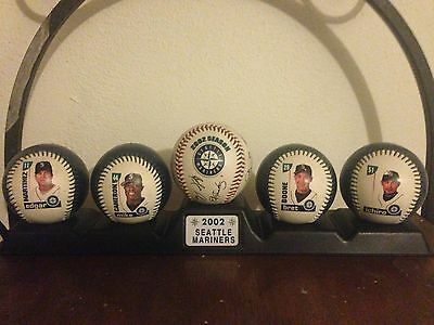 2002 Seattle Mariners Fotoball Collectible Baseball Set