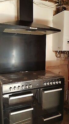 New World NW100DFCH 100 cm Dual (Electric and Gas) Kitchen Range