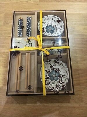 New Authentic Chinese Chopstick And Bowl Set