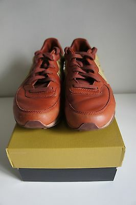 Men's Converse brown leather shoe size 9 (US) Auckland Racer style
