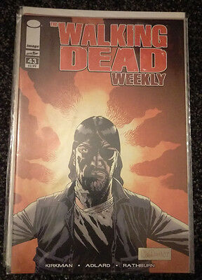 The Walking Dead Weekly Comic #43 - Governor Returns - Bagged & Boarded, NM
