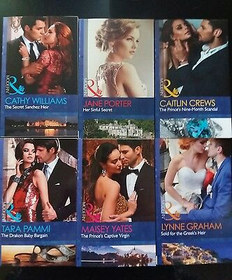 modern romance mills and boon x 6 june 2017