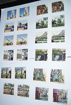 Lot Of True To Life Stereo 1964 Picture Cards See Australia With Taa Capitals