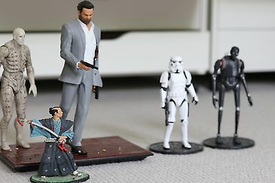 Collection of figures – Star Wars – Max Payne – Prometheus and Samurai