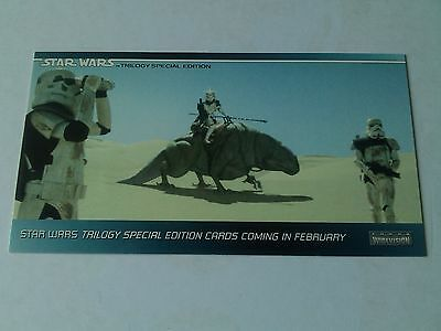 Star Wars Trilogy - SE Promo Card P1 Stormtroopers (Conventions) - Topps 1995
