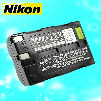 Genuine EN-EL3A EN EL3A Battery for Nikon MH-18A Charger D50 D70 D100 D70S Camer