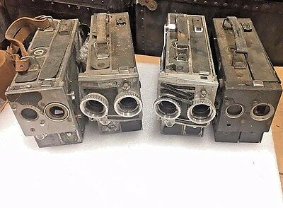 Lot of 4 KODAK 16mm  Cine Special Cameras for Parts or Repair