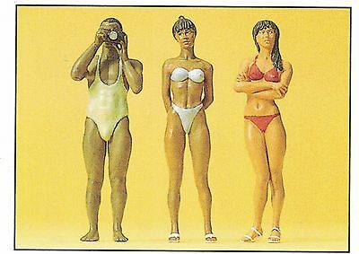 Photographer and Bathing Preiser 63064 1 Gauge Scale 1:3 2