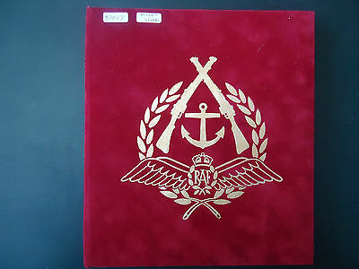 Benham Red Cover Album RAF World War 2 (1944-45) With 25 Covers (1994-1997)