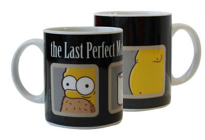 The Simpsons Tasse The Last Perfect Man Kaffeetasse Keramik Becher Mug